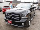 Used 2014 Dodge Ram 1500 LOADED SPORT EDITION 5 PASSENGER 5.7L-HEMI.. 4X4.. CREW CAB.. SHORT BOX.. LEATHER.. NAVIGATION.. SUNROOF.. BLUETOOTH.. HEATED SEATS.. BACK UP CAM.. for sale in Bradford, ON