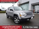 Used 2016 Jeep Patriot Sport/North ACCIDENT FREE w/ 4X4, LEATHER & SUNROOF for sale in Surrey, BC