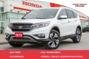 Used 2016 Honda CR-V Touring for sale in Whitby, ON