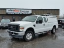 Used 2008 Ford F-250 Super Duty SUPER CAB 4X4 **COMMERCIAL CAP & LADDER RACK INCLUDED** for sale in Gloucester, ON