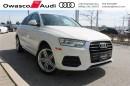 Used 2016 Audi Q3 2.0T Progressiv w/ Backup Sensors for sale in Whitby, ON