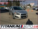 Used 2015 Chevrolet Sonic LT+Camera+Heated Seats+BlueTooth+Remote Start+Trac for sale in London, ON