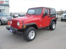 Used 2005 Jeep TJ Sport for sale in Hamilton, ON
