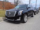 Used 2015 Cadillac Escalade PREMIUM.Luxury. No Accident History for sale in Brampton, ON