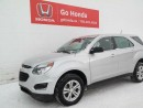 Used 2016 Chevrolet Equinox LS, AC, CRUISE, AUTO for sale in Edmonton, AB