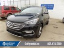 Used 2017 Hyundai Santa Fe Sport LEATHER, SUNROOF, BACKUP CAMERA for sale in Edmonton, AB