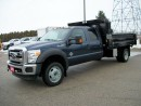 Used 2015 Ford F-550 XLT Crew Cab 4x4 Voth Dump for sale in Stratford, ON