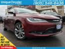 Used 2016 Chrysler 200 S| REAR CAM| REMOTE START| HEATED/POWER SEATS for sale in Burlington, ON