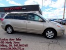 Used 2009 Toyota Sienna LE 7 Passenger Leather Power Sliding Door Certifie for sale in Milton, ON
