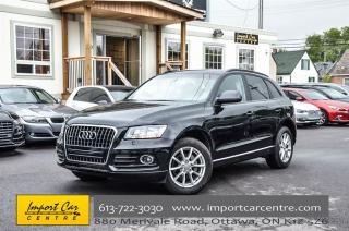 Used 2014 Audi Q5 2.0L Komfort QUATTRO LEATHER H.SEATS PARK DISTANCE for sale in Ottawa, ON