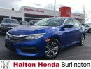 Used 2016 Honda Civic Sedan LX | REARVIEW CAMERA | HEATED SEATS | BLUETOOTH for sale in Burlington, ON