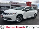 Used 2014 Honda Civic Sedan LX | BLUETOOTH | KEYLESS ENTRY | HEATED SEATS for sale in Burlington, ON