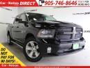 Used 2014 Dodge Ram 1500 Sport| NAVI| BACK UP CAM| LEATHER-TRIMMED SEATS| for sale in Burlington, ON