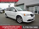 Used 2016 Dodge Grand Caravan Crew for sale in Surrey, BC