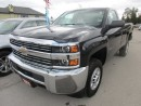 Used 2015 Chevrolet Silverado 2500 HD 3/4 TON READY TO WORK LT MODEL 3 PASSENGER 6.0L - V8.. 4X4.. REGULAR CAB.. LONG BOX.. AUX/USB INPUT.. for sale in Bradford, ON