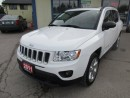 Used 2011 Jeep Compass LOADED LIMITED EDITION 5 PASSENGER 2.4L - DOHC.. 4X4.. LEATHER.. HEATED SEATS.. TOUCH SCREEN.. CD/AUX/USB INPUT.. for sale in Bradford, ON