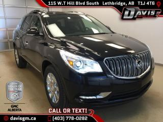 New 2017 Buick Enclave AWD-Heated Leather, Colour Touch Navigation, Remote Start for sale in Lethbridge, AB