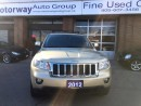 Used 2012 Jeep Grand Cherokee Laredo Navigation Leather Roof for sale in Mississauga, ON