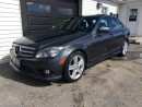 Used 2009 Mercedes-Benz C-Class 3.0L for sale in Kingston, ON