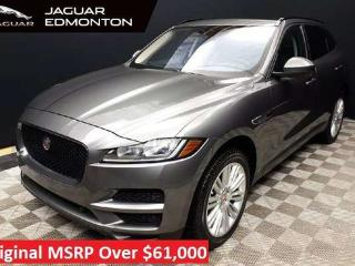 Used 2017 Jaguar F-PACE Premium - Certified Pre-Owned Warranty until October 5, 2023 or 160,000 KM with Certified rates from 2.9%. for sale in Edmonton, AB