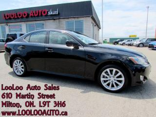 Used 2006 Lexus IS 250 AWD Automatic Certified 2 Year Warranty for sale in Milton, ON
