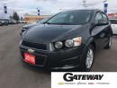 Used 2016 Chevrolet Sonic LT, REMOTE START, HEATED SEATS, REAR CAMERA for sale in Brampton, ON