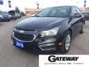 Used 2016 Chevrolet Cruze 2LT|LEATHER|BLUE TOOTH|REAR CAMERA|LOADED!| for sale in Brampton, ON