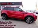 Used 2012 Land Rover Evoque Dynamic  Dynamic PKG AWD NAVIGATION CAMERA CERTIFI for sale in Milton, ON