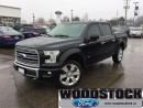 Used 2016 Ford F-150 Limited  Navigation, Moonroof, 360 Camera, Massage for sale in Woodstock, ON
