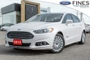 Used 2015 Ford Fusion SE HYBRID - LUXURY PKG/LEATHER! for sale in Bolton, ON