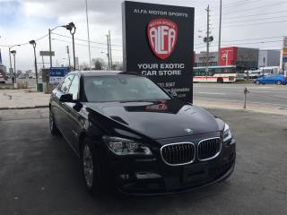 Used 2013 BMW 7 Series Li xDrive (A8) *M-SPORT*EXT. FACTORY WARRANTY* VER for sale in Etobicoke, ON