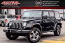 Used 2016 Jeep Wrangler Unlimited Sahara |4x4|PwrConven,ConnectivityPkgs|Nav|R-Start|18