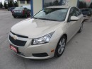 Used 2011 Chevrolet Cruze LOADED LTZ EDITION 5 PASSENGER 1.4L - TURBO ENGINE.. LEATHER.. HEATED SEATS.. CD/AUX/USB INPUT.. for sale in Bradford, ON