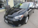Used 2015 Toyota Corolla FUEL EFFICIENT LE MODEL 5 PASSENGER 1.8L - DOHC ENGINE.. HEATED SEATS.. TOUCH SCREEN.. BACK-UP CAMERA.. FACTORY WARRANTY.. for sale in Bradford, ON