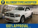 Used 2011 Dodge Ram 1500 SPORT*CREW CAB*HEMI*4WD*NAVIGATION*LEATHER SEATS*REMOTE START*U CONNECT PHONE*CHROME RIMS* for sale in Cambridge, ON