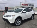 Used 2013 Toyota RAV4 LTD AWD - NAVI - LEATHER - SUNROOF for sale in Oakville, ON