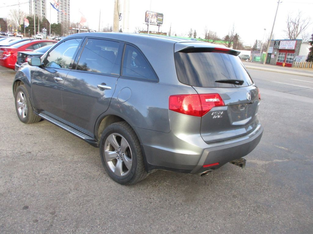used 2009 acura mdx elite pkg backup camera leather sunroof nafica for sale in scarborough. Black Bedroom Furniture Sets. Home Design Ideas