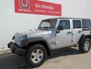 Used 2012 Jeep Wrangler Unlimited SPORT, UNLIMITED, 4X4 for sale in Edmonton, AB