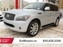Used 2014 Infiniti QX80 8 Passenger NAV, DVD, Blind spot monitoring for sale in Edmonton, AB