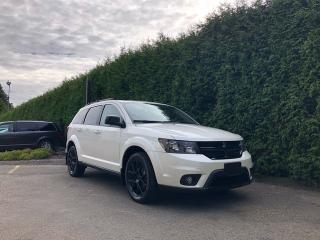 Used 2017 Dodge Journey BLACKTOP + SAFE & SOUND GROUP + HEATED FT SEATS + SUNROOF + NO EXTRA DEALER FEES for sale in Surrey, BC
