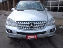 Used 2007 Mercedes-Benz ML500 5.0L for sale in Mississauga, ON