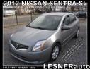 Used 2012 Nissan Sentra SL -AUTO LOADED 58,KM SPOILER ALLOYS- LESNERdirect for sale in Hamilton, ON