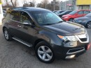 Used 2011 Acura MDX Tech pkg/NAVI/BACKUPCAMERA/DVDS/BLUETOOTH/SHARP for sale in Pickering, ON