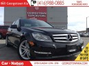 Used 2013 Mercedes-Benz C-Class 300 4MATIC | CLEAN CARPROOF | SUNROOF | for sale in Georgetown, ON
