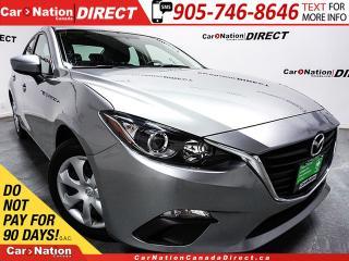 Used 2015 Mazda MAZDA3 GX| PUSH START| ONE PRICE INTEGRITY| for sale in Burlington, ON