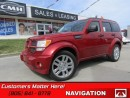 Used 2007 Dodge Nitro R/T   4X4, NAVI, LEATHER, DVD, SUNROOF, HEATED SEATS! for sale in St Catharines, ON
