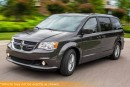 Used 2016 Dodge Grand Caravan Crew, Leather, DVD, Bluetooth, for sale in Winnipeg, MB