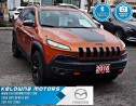 Used 2016 Jeep Cherokee Trailhawk for sale in Kelowna, BC