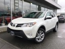 Used 2015 Toyota RAV4 Limited,One owner,local for sale in Surrey, BC