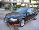Used 2005 Audi A4 1.8T Quattro Auto Sport Clean Carproof,LOW MILLAGE for sale in North York, ON